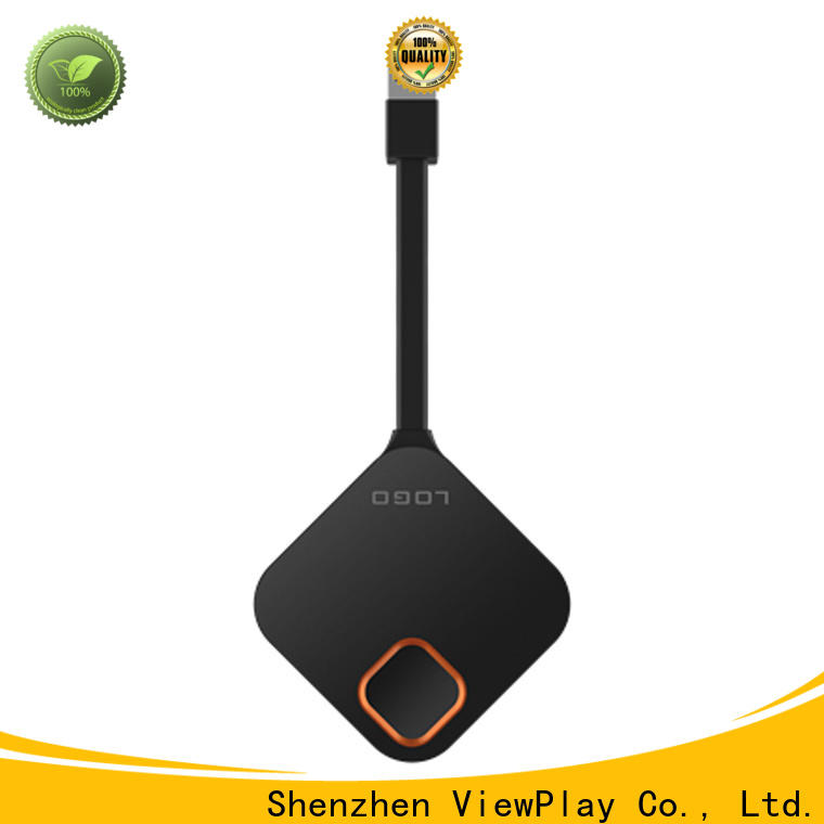 ViewPlay wireless presentation dongle with undetectable latency for lag free gaming