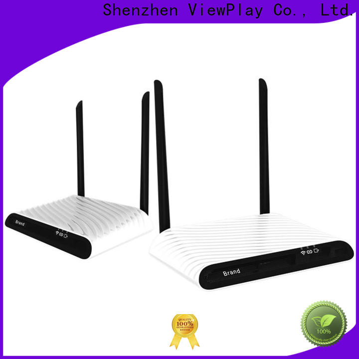 ViewPlay professional wireless av transmitter with ultra low latency for sharing apps to tv without app installation