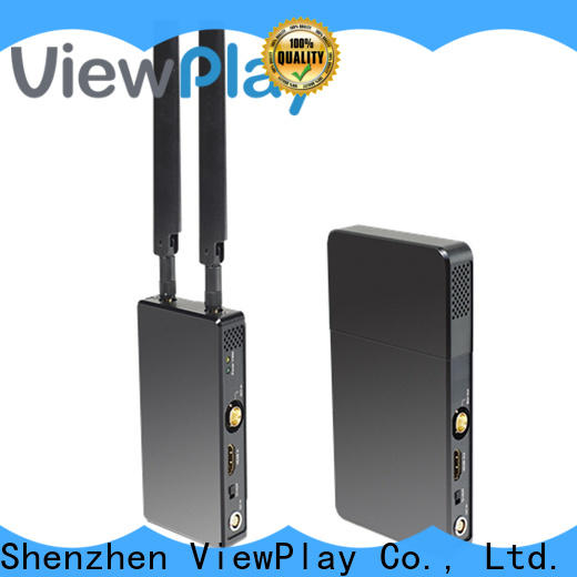 ViewPlay high quality sdi wireless transmitter and receiver with ultra latency for industry application