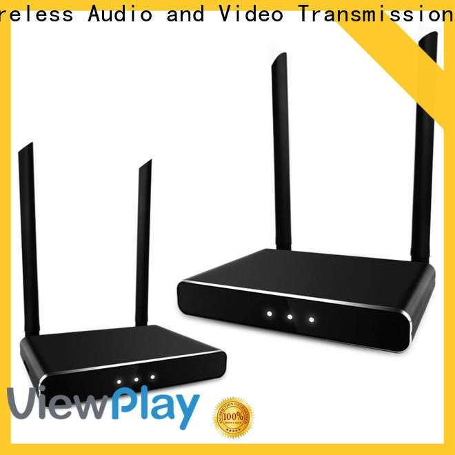 ViewPlay custom wireless video hdmi transmitter & receiver with wifi for sharing apps to tv without app installation