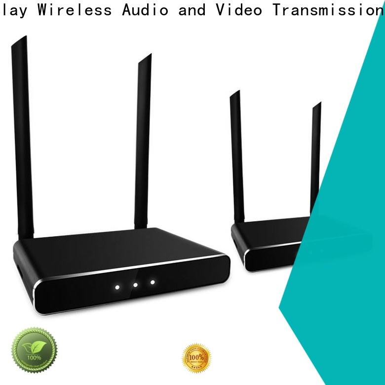 new wireless audio video transmitter and receiver for busniess for sharing apps to tv without app installation