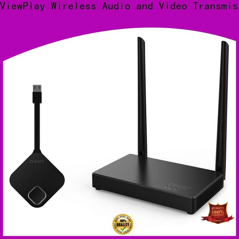 ViewPlay top wireless av sender manufacturer for sharing apps to tv without app installation