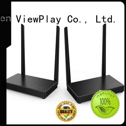 ViewPlay hot sale wireless video hdmi transmitter & receiver with usb kvm for sharing apps to tv without app installation