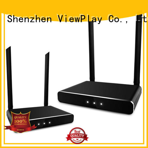 best wireless tv transmitter with no discernable lag for sharing apps to tv without app installation