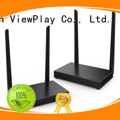 ViewPlay wireless tv transmitter with usb kvm for sharing apps to tv without app installation