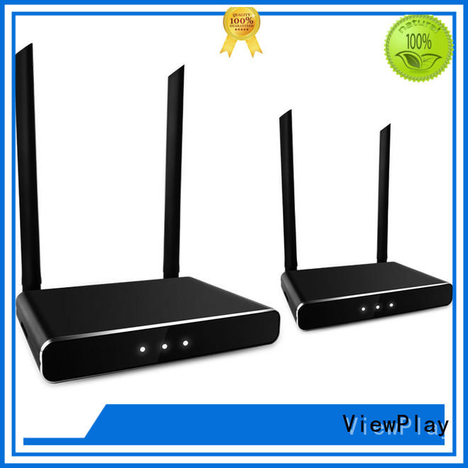 ViewPlay audio video wireless transmitter receiver with wifi for sharing apps to tv without app installation