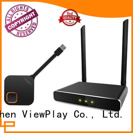 ViewPlay wireless video hdmi transmitter & receiver with no discernable lag for sharing apps to tv without app installation