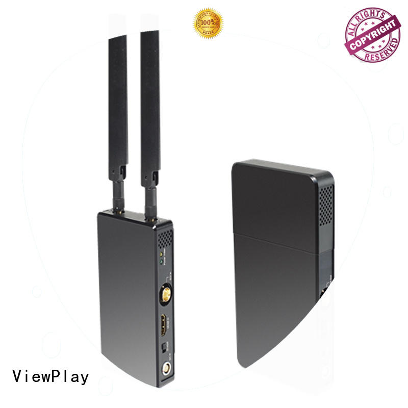 ViewPlay higher power wireless sdi video transmitter with ultra low latency dsp for industry application