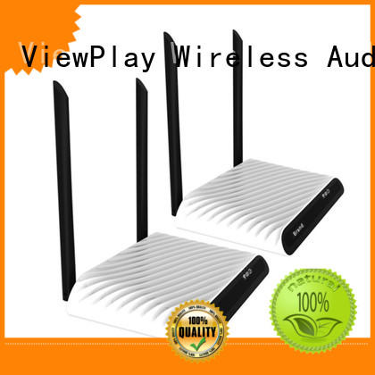 ViewPlay low latency wireless tv signal transmitter and receiver with wifi for sharing apps to tv without app installation