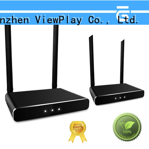 ViewPlay wireless hdmi transmitter receiver with usb kvm for sharing apps to tv without app installation