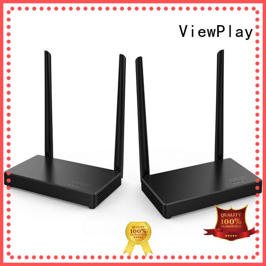 ViewPlay professional wireless hdmi transmitter and receiver kit with wifi for sharing apps to tv without app installation