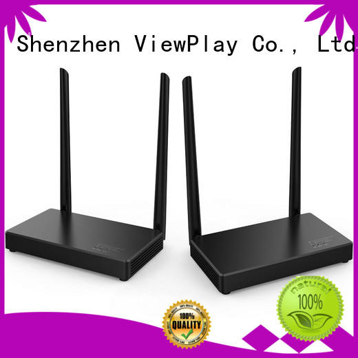 ViewPlay full functional wireless cable tv transmitter & receiver with ultra low latency for sale