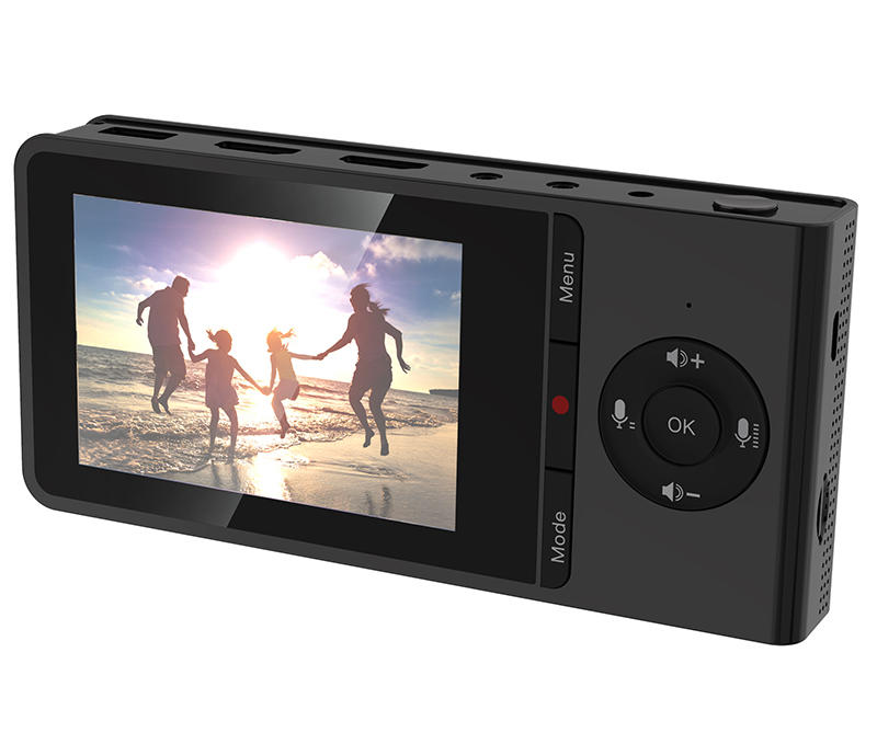 Video Capture with Panel and Battery