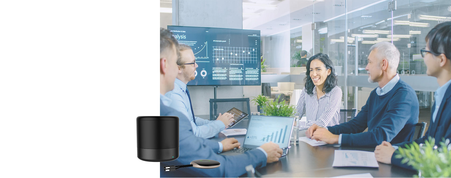 WIRELESS  PRESENTATION <br>AND  COLLABORATION SYSTEM